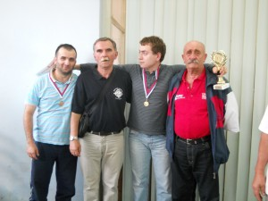 Me with friends, GM Bogosavljevic and club officers
