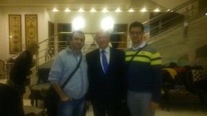 Me with GM Miljkovic and legendary Evgeny Sveshnikov