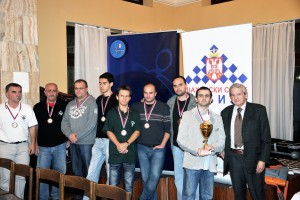 "Club ""Vodovod"", third place in Superleague 2010"